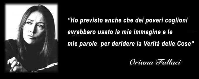 Oriana Fallaci un simbolo per la nostra Toscana