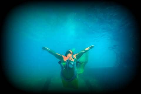 Guardiane del mare con il laboratorio delle Sirene